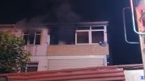 Buzdolabının patlaması sonucu çıkan yangın evi harabeye çevirdi