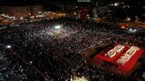 Kocaeli'de binler Milli İrade Meydanı'na akın etti