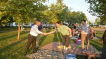 Başkan Toltar Hafta sonunda Piknik yapan aileleri ziyaret etti