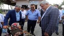 Başkan'a Gebze köylerinde sıcak karşılama