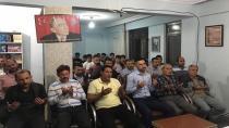 Türk ve yönetimi aşure gününü ocakta kutladılar