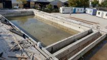 Kandıra Yarı Olimpik Yüzme Havuzu yükseliyor
