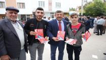Karabacak'tan  metro temel atma törenine davet