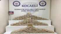 Kocaeli'de 1 haftada 106 kilogram eroin ele geçirildi