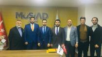 Genç MÜSİAD Gebze'nin yeni başkanı Alican Karakaya oldu