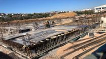 Darıca'nın dev spor salonu zemin kat çalışmaları başladı