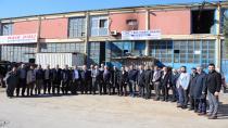 Büyükgöz Hasköy ve Küçük Sanayi'de işçilerle buluştu