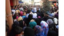 Suriyeliler bayram tatili için izdiham oluşturdu!
