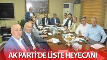 AK Parti'de liste heyecanı