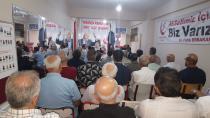 Yeniden refah partisi KOCAELİ il teşkilatı Mehmet ARAS başkanlığında toplantı.