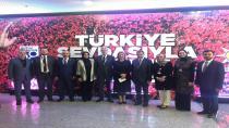 Ellibeş ve ekibi Ankara'da