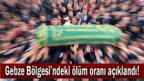 Gebze Bölgesi'ndeki ölüm oranı açıklandı!