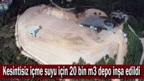 Gebze ve Çayırova'da kesintisiz içme suyu için 20 bin m3 depo inşa edildi