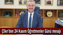 Çiler, ''Başöğretmenimiz Atatürk'tür''