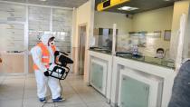 PTT Şubeleri Dezenfekte Edildi