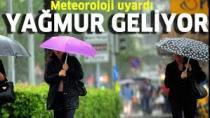 Dikkat! Yağmur geliyor