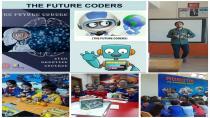 Cocuklar The Future Coders eTwinning Projesi ile Robotik Kodlama Öğreniyor.