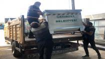 Çayırova belediyesi çöp konteynerlerini değiştiriyor