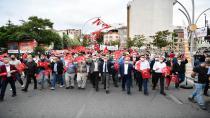 Çayırova'da binler birlik oldu