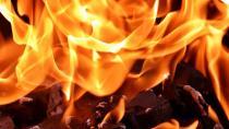 Çayırova'da bir otomotiv firmasında hidrolik yağ kazanı patladı