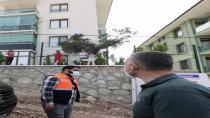 Büyükakın'a balkonlardan proje teşekkürü