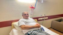 Gedikoğlu hastahaneye kaldırıldı